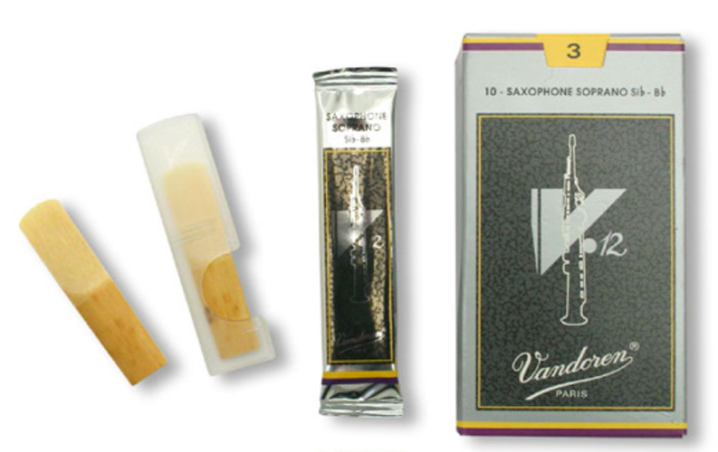 Vandoren V12 Soprano Sax Reed Box of 10 - 4