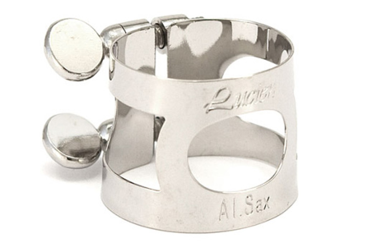 Lucien Alto Sax Nickel Plated Ligature