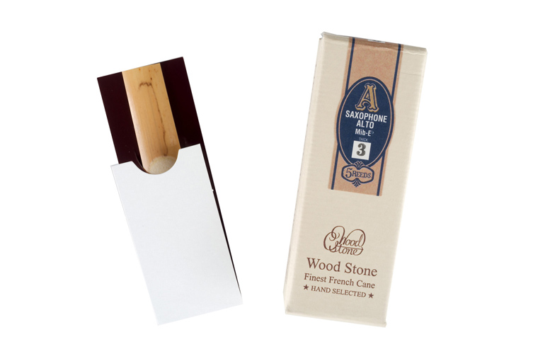 Ishimori Wood Stone Hand Selected Alto Sax Reeds - box of 5