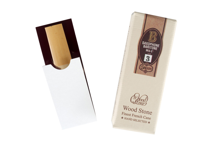 Ishimori Wood Stone Hand Selected Baritone Sax Reeds - box of 5