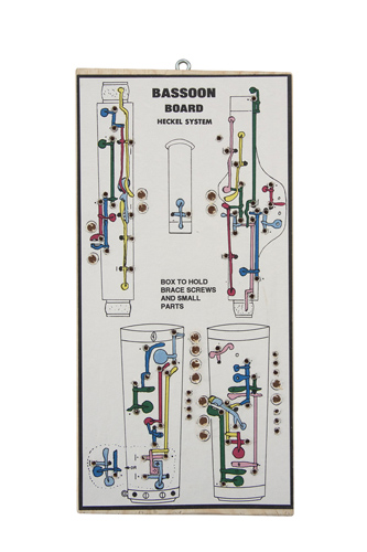 Assembly Board for Bassoon