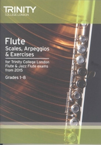 Trinity Flute & Jazz Flute Scales etc from 2015