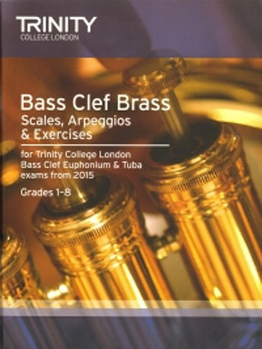 Trinity Bass Clef Brass Scales & Arpeggios 2015