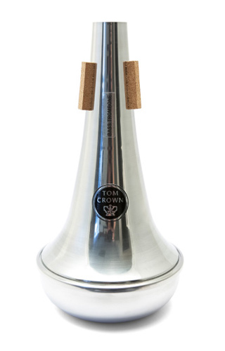 Tom Crown Bass Trombone Mute - Straight - Aluminium