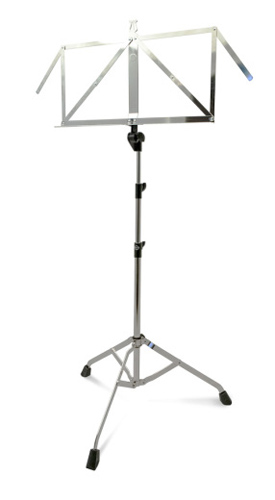 K&M Nickel Music Stand 107N - Nickel