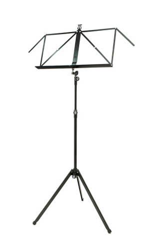 K&M Music Stand 3 Section Deluxe 100/1 - Black