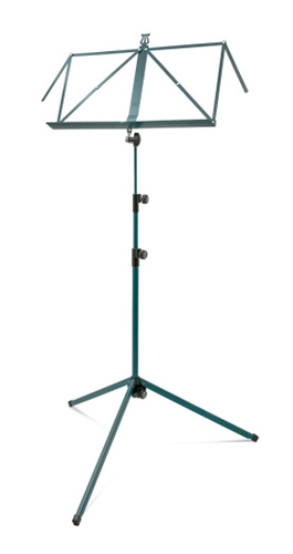 K&M Music Stand 3 Section Deluxe 100/1 - Green
