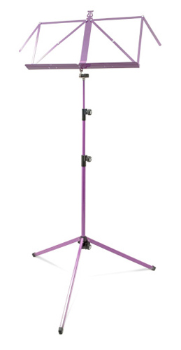 K&M Music Stand 3 Section Deluxe 100/1 - Lilac
