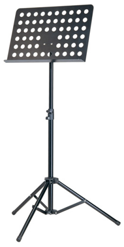 K&M Orchestral Music Stand - 11899 - Black