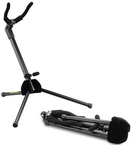 Hercules DS431B TravLite Alto Sax Stand - Store in bell AJS1522