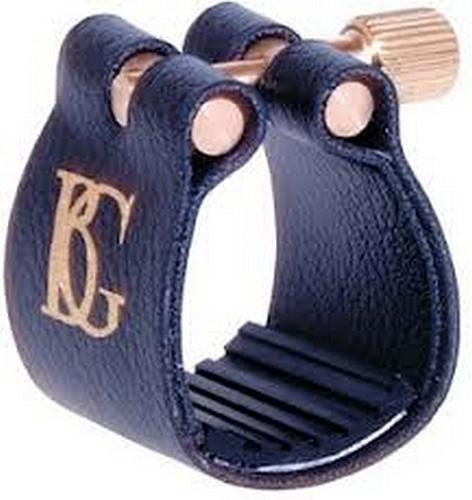 BG Sopranino Sax Ligature & Cap - Leather Style