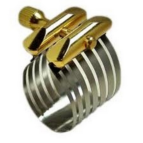 Rovner Platinum P-1RVS Soprano Sax Ligature and Cap