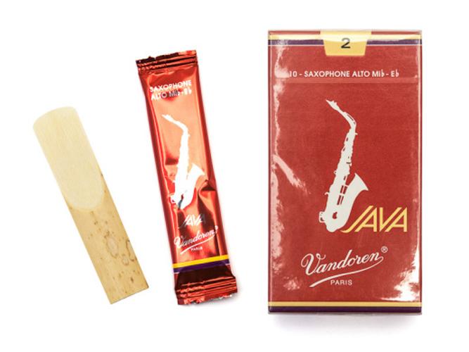 Vandoren Java Red Cut Alto Sax Reed