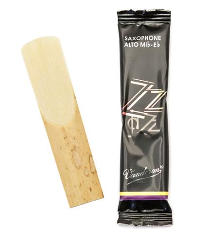 Vandoren Jazz ZZ Alto Saxophone Reed Flow Pack