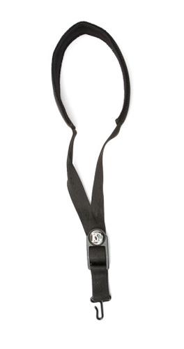 BG Deluxe Sax Sling S10M - Black, with Neckpad - Metal Hook