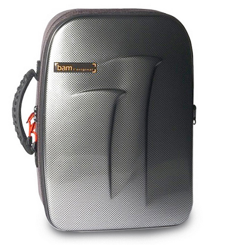 BAM New Trekking Bb and A Double Clarinet Case - Silver Carbon