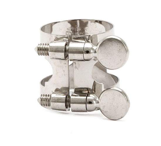 Lucien Eb Clarinet Ligature - Nickel Plated