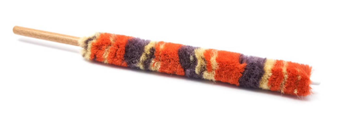 Clarinet Mop - Wool with Wooden Handle