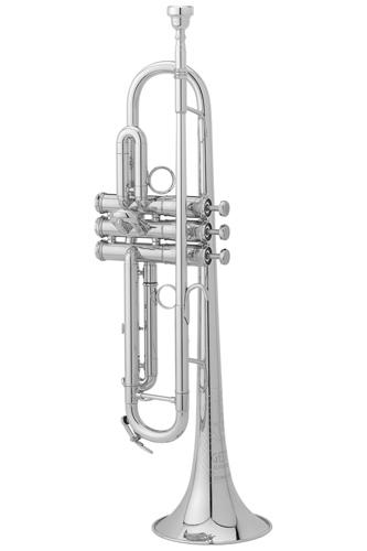 907DLXS - Getzen Eterna Deluxe Silver Plated - Bb Trumpet
