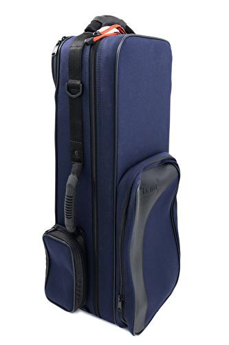 BAM Trekking Bass Clarinet to Low Eb Case - Navy Blue