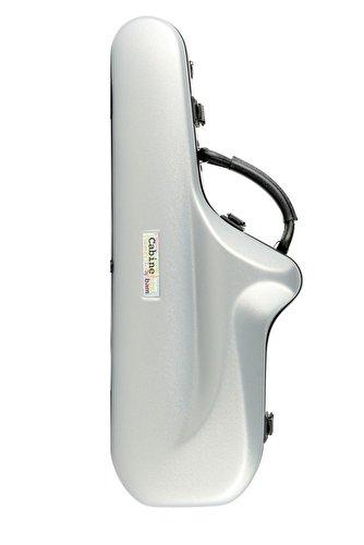 BAM Cabine Alto Saxophone Case - Silver Grey