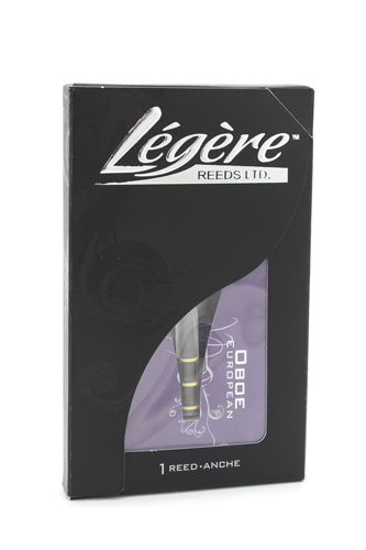 Legere Synthetic Oboe Reed European Scrape Strength - Medium - Yellow Rings