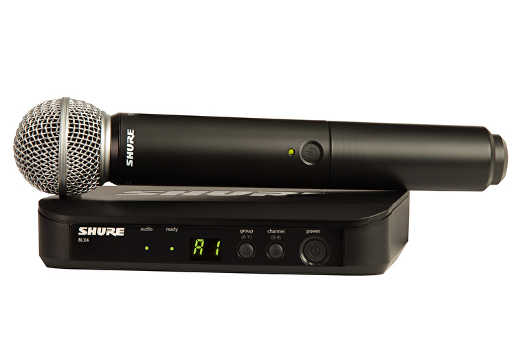 Shure BLX24/SM58 Wireless Mic System