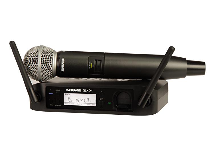 Shure GLXD24/SM58 Wireless Mic System
