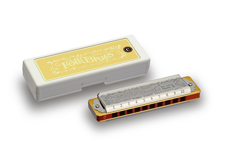 Tombo Folk Blues MKII Harmonica