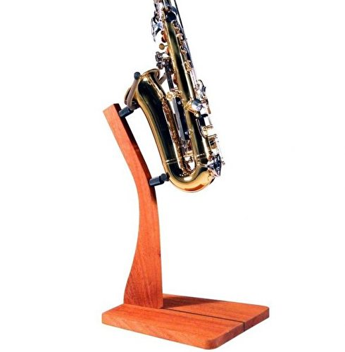 Handcrafted Solid Wood Saxophone Stand by Jody Jazz