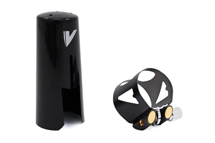 Vandoren Optimum Bb Clarinet Ligature with Plastic Cap - Black Finish