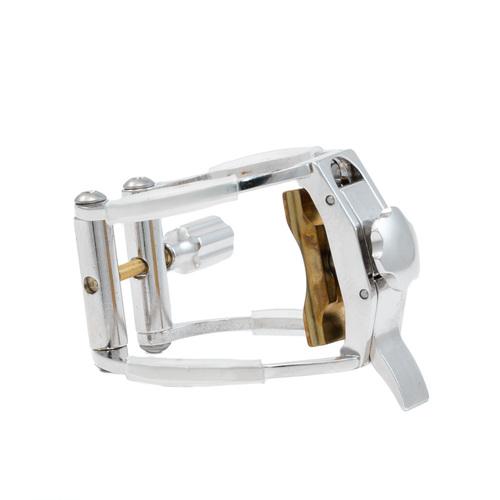 AK CLR Rhodium Clarinet Ligature - Standard Fit