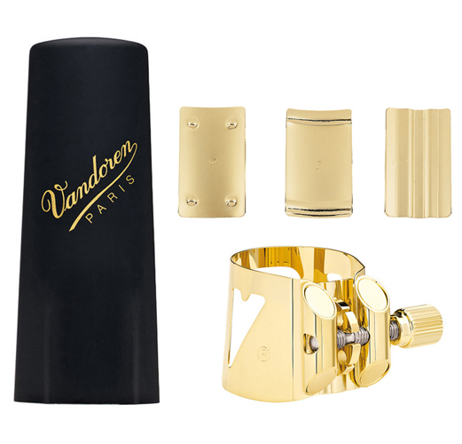 Vandoren Optimum Alto Sax Ligature with Plastic Cap - LC07P