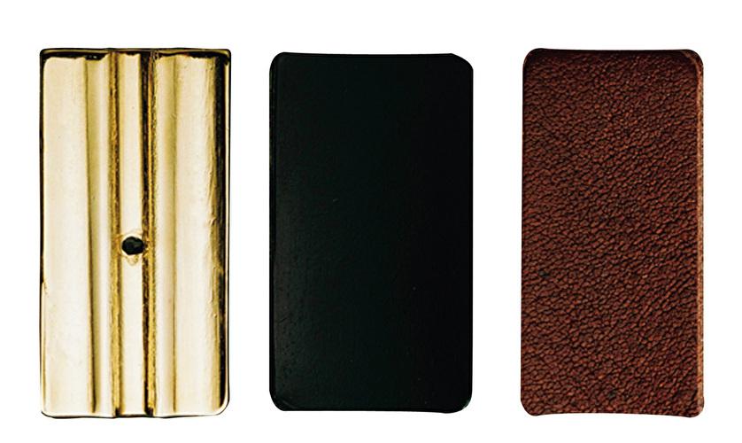 Set of 3 Plates for Leather Style Vandoren Tenor Saxophone Ligature