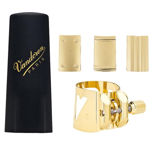 Vandoren Optimum Baritone Saxophone V16 Ligature with Plastic Cap