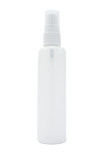 Water Spray - Tall White Round Bottle - 100ml
