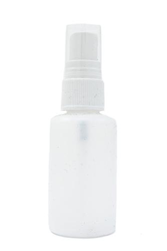 Atomiser Spray - Round White Bottle - 50ml