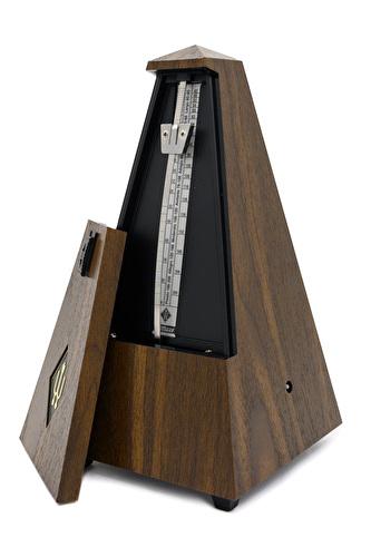 Wittner Metronome - Plastic Pyramid - Walnut Finish
