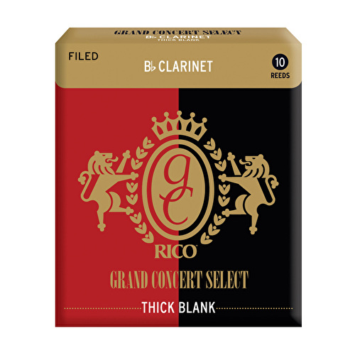 Rico Grand Concert Select Thick Blank Bb Clarinet Reed
