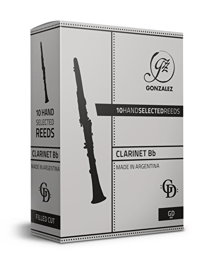 Gonzalez GD Bb Clarinet Reed