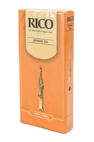 Rico Soprano Sax Reed Novapak x 25 Reeds - Strength 2.5