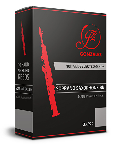 Gonzalez Classic Soprano Sax Reeds - 2