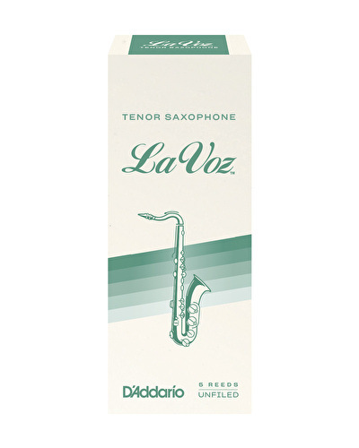 La Voz Tenor Saxophone Reed - Box of 5