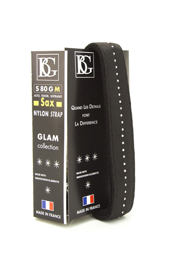 BG S80GM Saxophone Sling Glam Collection - Black
