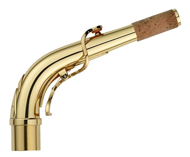 Yanagisawa Alto Saxophone Crook - AKZ1 Brass