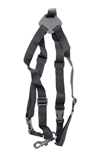 Windcraft Faxx Saxophone harness with Snap Hook - Black