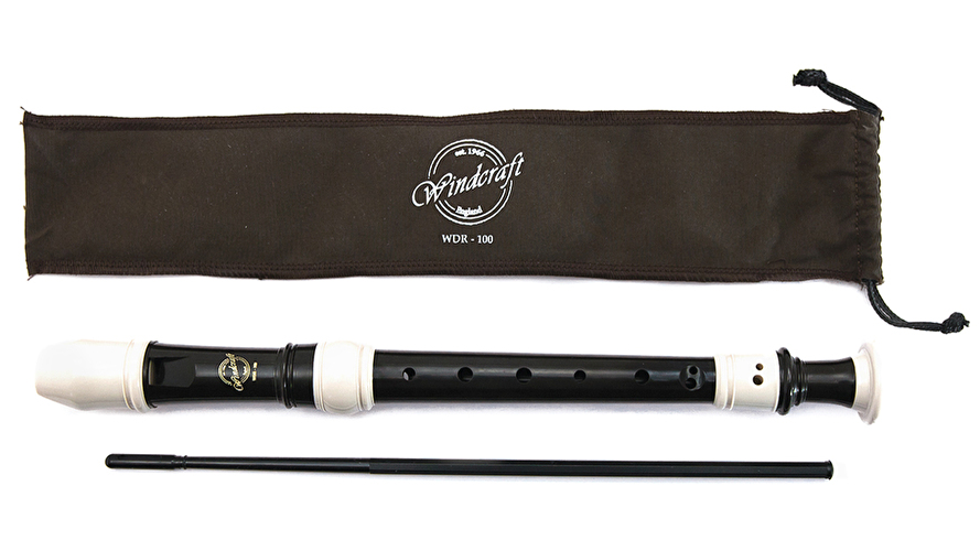 Windcraft Descant Recorder - 3 Piece with arched windway