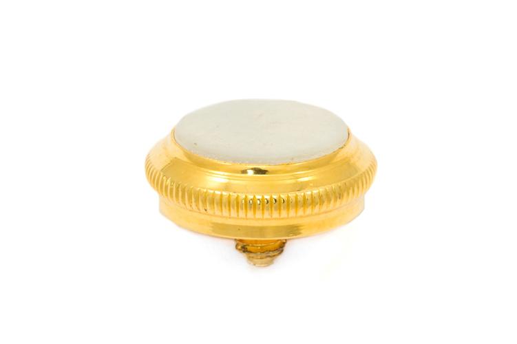 Finger Button - Getzen Custom Trumpet - Gold Plated