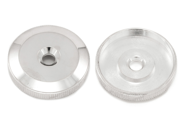 Bottom Cap Silver Plated