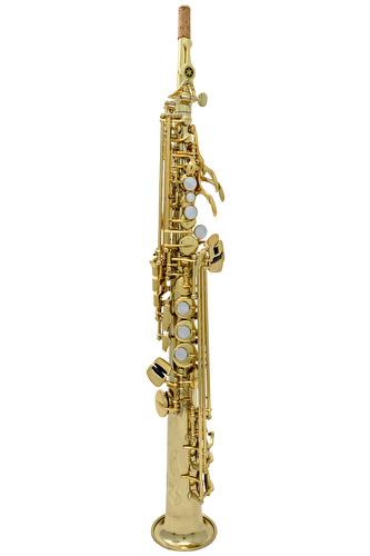 Yamaha YSS-675 with 2 Necks - Soprano Sax